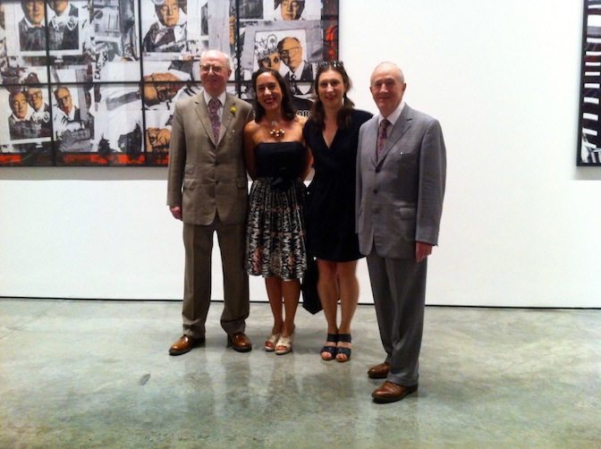 Sissa Micheli, Gilbert & George at White Cube, Bermondsey, 17 July 2014